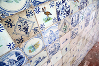 Rare delft tiles found during demolition