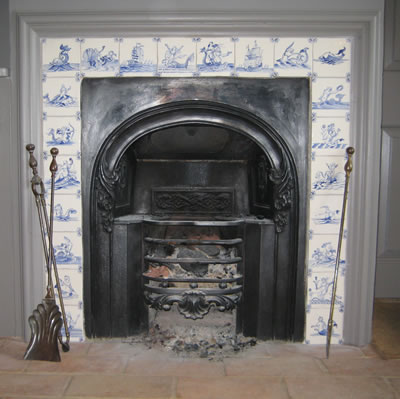 Gallery, Delft Fireplace Tiles